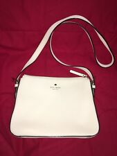 kate spade Ivory Leather Crossbody Purse