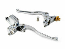 Chrome Hand Lever Control Kit for Harley Davidson by V-Twin