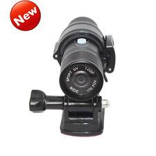 NEW HD 1080P Mini Metal Fire Proof Camera Helmet Cam Firefighter Water Resi