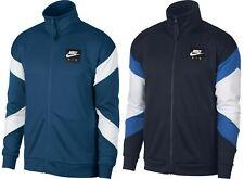 Nike Air Mens Full-Zip Classic Standard Fit Track Jacket Navy/Blue New