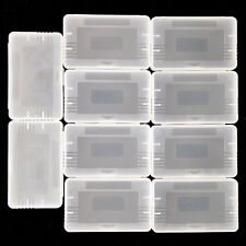 10x Dust Cover For Nintendo Gameboy GBA SP GBM Game Cartridge Case Clear Pl