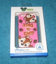 Chip &Dale Disney Parks iPhone 5/5S Clip Case Brand New and Factory Sealed.