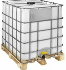 1000 LITRE RE BOTTLED IBC ON TIMBER PALLET WITH CDS DIP TUBE LIQUIDS WATER