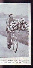 1925  --  CYCLISME TOUR DE FRANCE  BOTTECHIA TOUR HONNEUR VELODROME S171