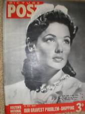 cover girl photo of actress Gene Tierney 1941