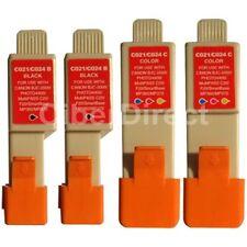 4 compatible CANON BCI-21 BK/C printer ink cartridges