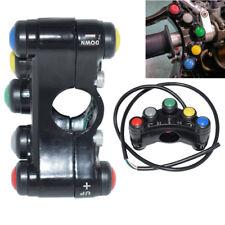 """12V 7-Knopf Schalttafel 7/8"""" ATV Motorrad Schalter Lenkerschalter 10A Universal"""