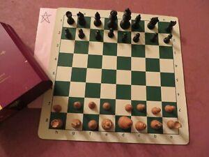 Vintage Allan Troy Chess Set-ES Lowe/Lardy-style Analysis set, 7D TH