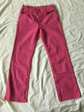 Diane Gilman Vintage DG2 Womens Pink Jeans Size 2P Petite