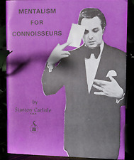 Mentalism for Connoisseurs by Stanton Carlisle from Murphy Magic - Book