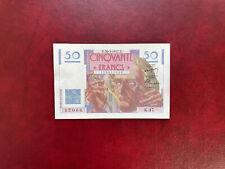 France Billet 50 Francs Le Verrier  20.03.1947  K.47