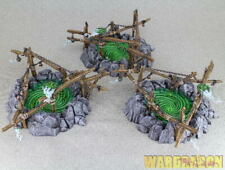Warhammer Age Of sigmar WDS painted Skaven Gnawholes i45