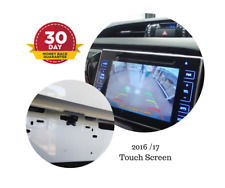 Reverse Camera Kit for Toyota HILUX Factory Screen 2016 - 2018 SR Workmate &amp