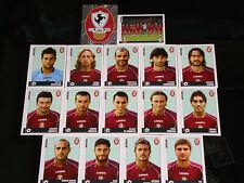 FIGURINE CALCIATORI PANINI 2006-07 SQUADRA AREZZO CALCIO FOOTBALL ALBUM