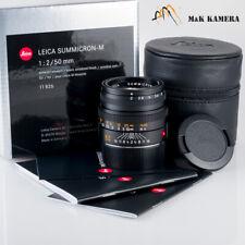 Leica Summicron-M 50mm F/2 Lens 11826 Germany #826