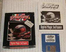 Amiga (vintage) computing jeu *** drivin' force *** Coffret