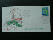 radio relay station 1969 FDC Bonaire Netherlands Antilles 87063