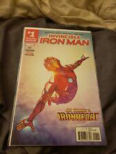 Invincible Iron Man #1 1st Print RIRI WILLIAMS IRONHEART