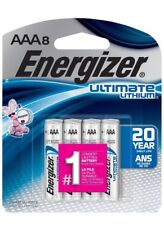 Energizer - Ultimate Lithium AAA Batteries - 8-Pack L92SBP-8 - *NEW*
