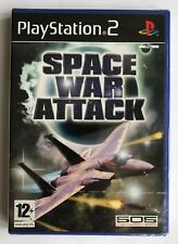 PS2 Space War Attack (2006), UK Pal, Brand New & Sony Factory Sealed