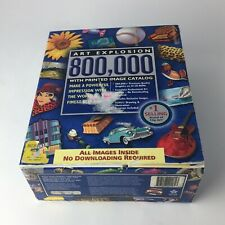 NOVA Art Explosion 800,000 Clip Art Image Catalog [34 CD-ROM Set, 19GB 2004]