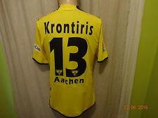Alemannia Aachen original jako matchworn camiseta 2006/07 + nº 13 krontiris talla XL