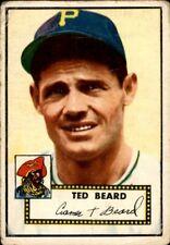 Ted Beard 1952 Topps #150 Pirates Good 61136