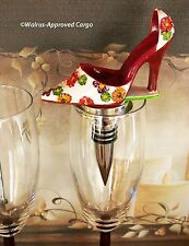 HIGH HEEL SHOE BOTTLE STOPPER – STEP RIGHT UP TO A UNIQUE WINE EXPERIENCE!