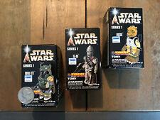 New ListingKubrick Star Wars Figures - Boba Fett, Bossk, Ig-88 - Mandalorian - Unopened