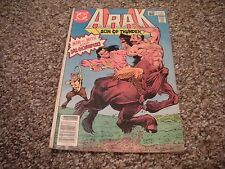 Arak Son of Thunder #10 (1981) DC Comics FN/VF