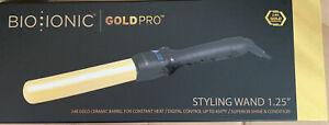 """Bio Ionic Gold Pro Styling Wand 1.25"""""""