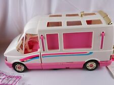 Barbie Doll Golden Dream Motor Home House Van & Accessories Vintage 1992 Mattel