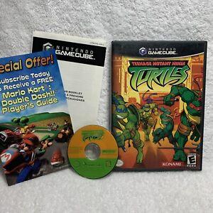 Teenage Mutant Ninja Turtles (Nintendo GameCube 2003) case and disc Excellent