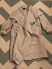 Zara Coat, Grey Size Small