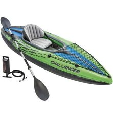 Intex K1 Challenger Inflatable Kayak for One Person - Multi-Colour! NEW! 41