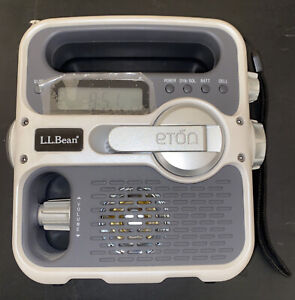 Eton L.L.Bean Solarlink FR360 Local Weather & Emergency AM/FM Solar Crank