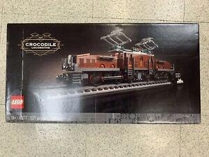 LEGO Icons Crocodile Locomotive 10277
