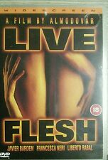 Live Flesh New PAL DVD Javier Bardem Penelope Cruz Pedro Almodovar (1997)