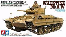 Tamiya 35352 1/35 Model Kit British Infantry Tank Mark III Valentine MK.II/IV