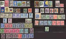 Lot 75 timbres oblitérés LUXEMBOURG 1930 à 2001 à trier