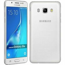 "SAMSUNG GALAXY J5 2016 BIANCO 16gb Dual Sim LTE Android Smartphone 5,2 """