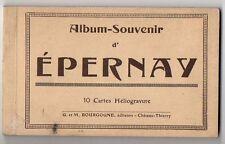 CARNET DÉPLIANT TOURISTIQUE Album Souvenir d'Épernay Ed. G. et M. Bourgogne