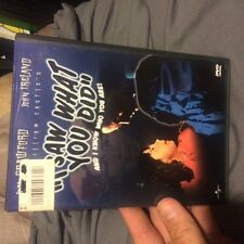 I Saw What You Did and I Know Who You Are (DVD, 1999, Widescreen)