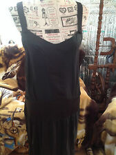 Robe STELLA MCCCARTNEY FOR H&M NOIR 100% SOIE T 38