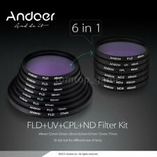 Andoer 67mm UV+CPL+FLD+ND Photography Filter Kit Set Circular-Polarizing N3E9