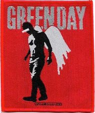 Official Licensed Merch Woven Sew-on PATCH Punk Rock GREEN DAY Wings