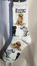 Adult Socks Golden Doodle Poses Fashion Footwear Dog Socks Size Medium 6-11