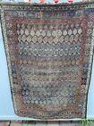 beautiful old estate antique Kurdish heriz serapi caucasian oriental rug