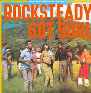STUDIO ONE.ROCKSTEADY GOT SOUL. VARIOUS ARTISTS CD