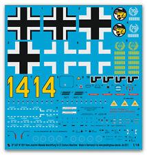 Peddinghaus  1/18 1607  BF 109 F Hans Joachim Marseille for 21. Cent